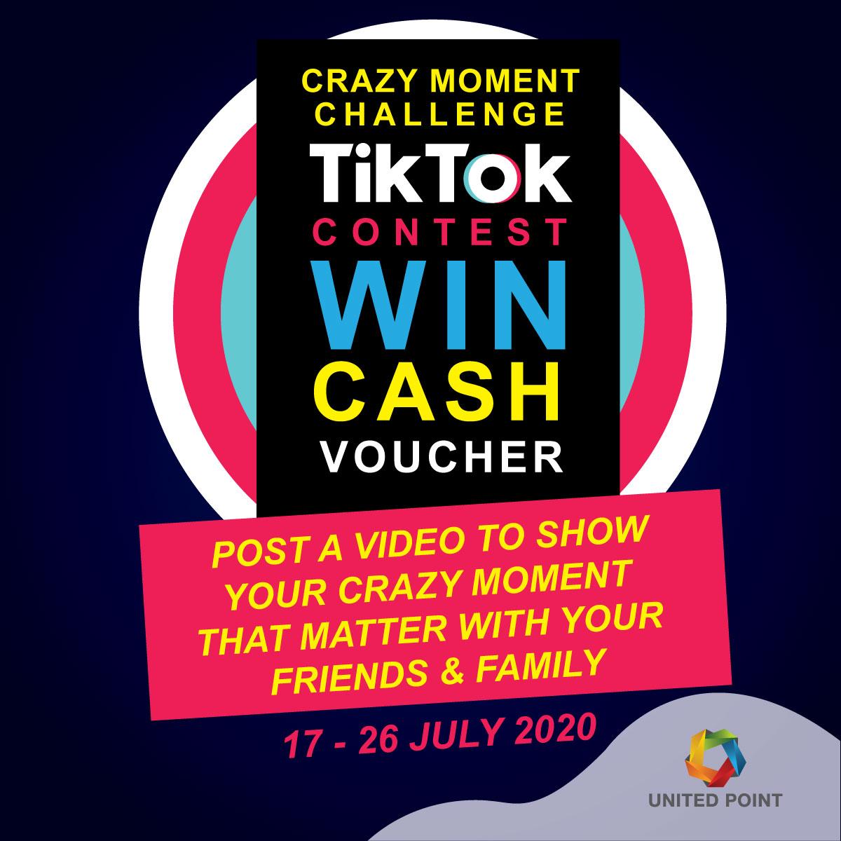 Crazy Moment Challenge Tik Tok Contest