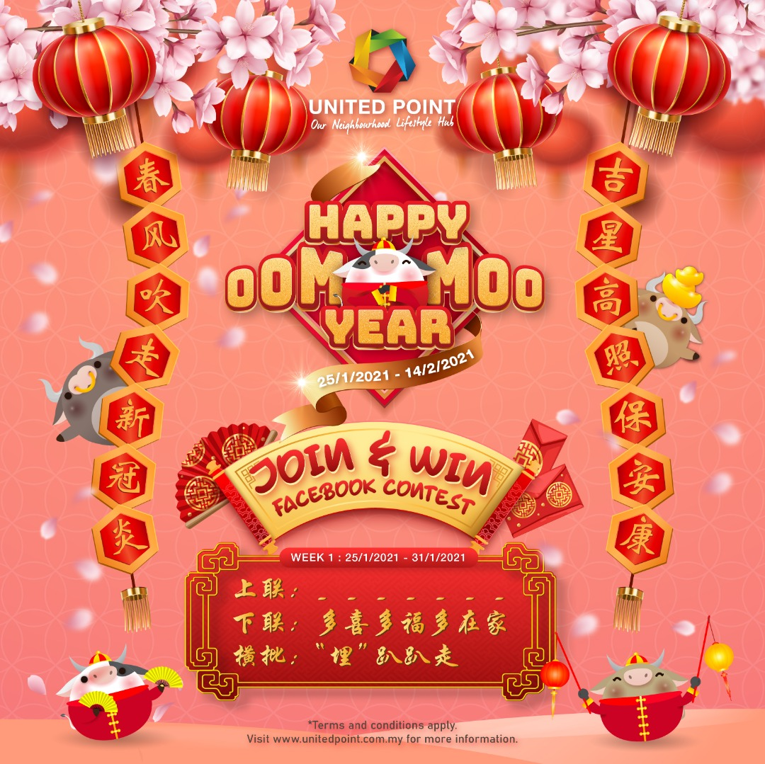 Happy Moo Moo Year – Join & Win Facebook Contest