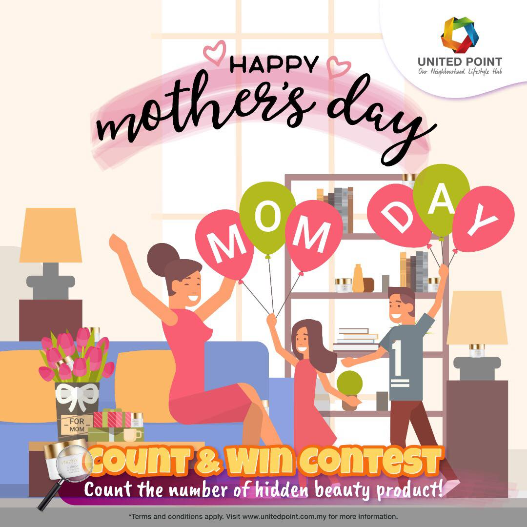 Mother's Day Count & Win Facebook Contest