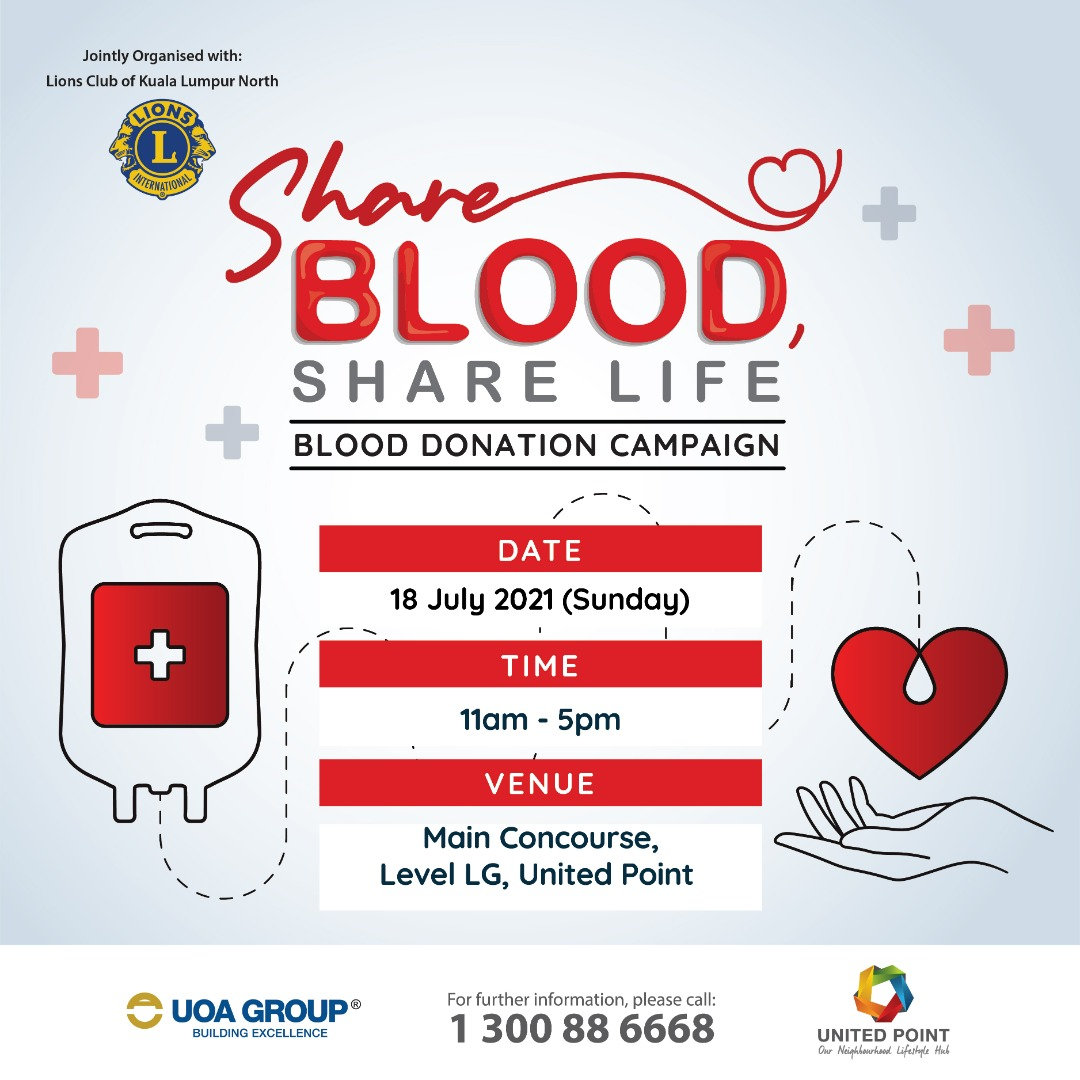 Share Blood Share Life Blood Donation Campaign