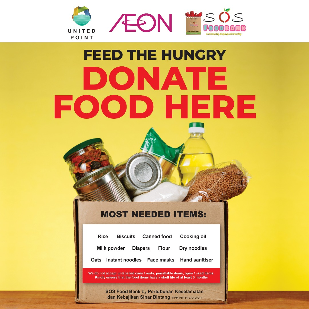 Food Donation Point At United Point