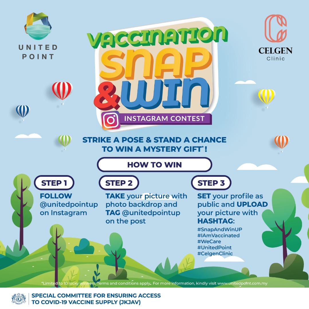 Vaccination 'Snap & Win' Instagram Contest